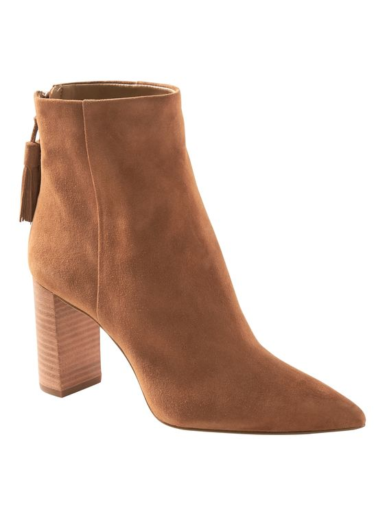 Banana Republic: Tassel Zip Ankle Boot - $178