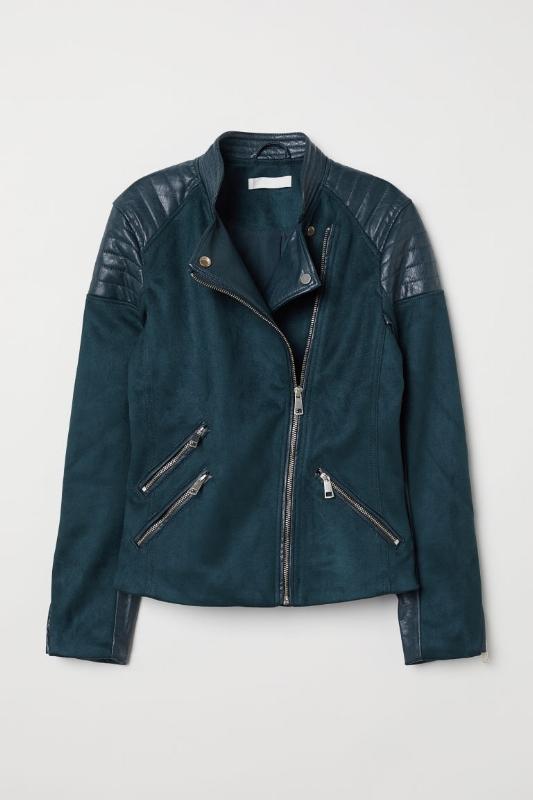 H&M: Biker Jacket  - $60