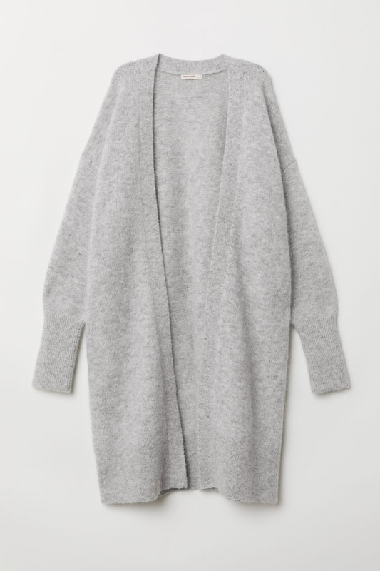 H&M: Long Wool-Blend Cardigan - $99