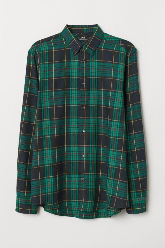 H&M: Regular-Fit Flannel - $25