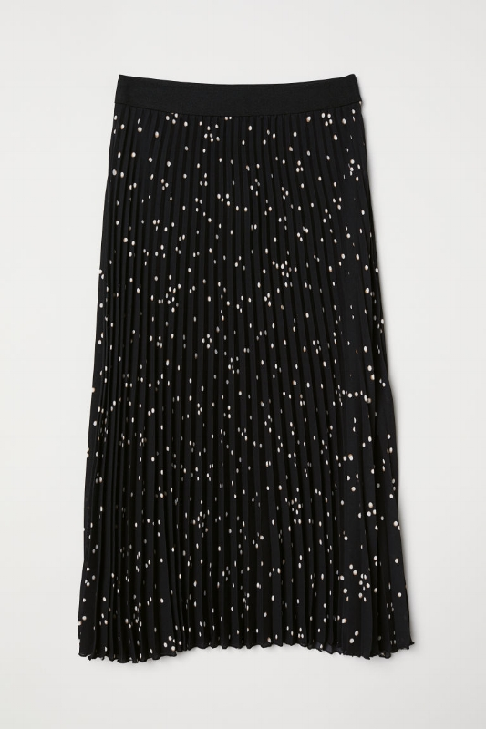 H&M: Pleated Skirt - $50