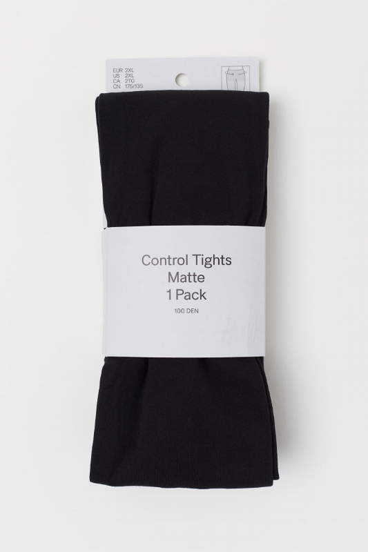 H&M: Opaque Control Tights - $15