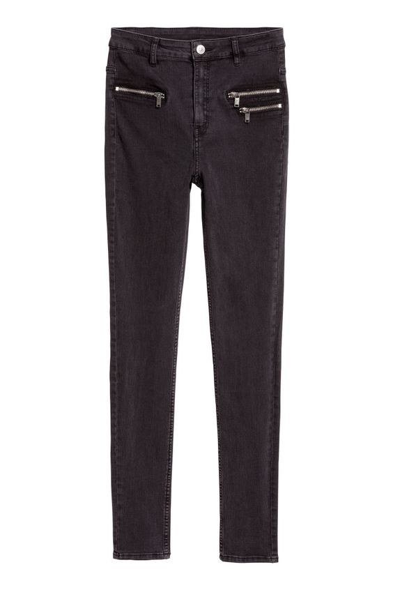 H&M: Slim High Ankle Jeans $30