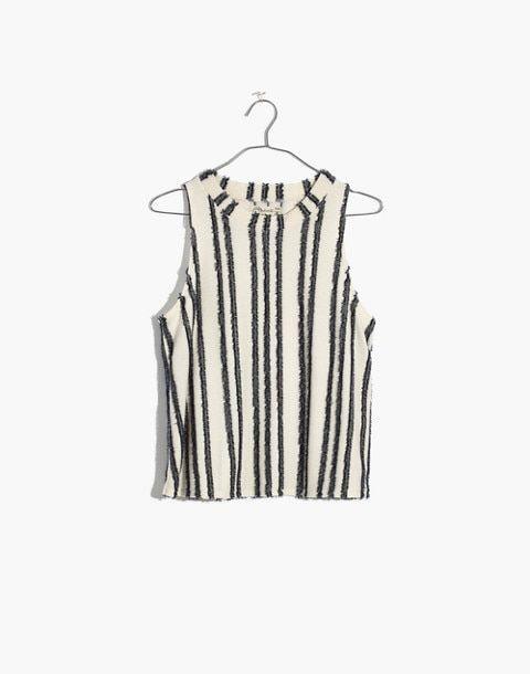 Madewell: Texture & Thread Mockneck Swing Top - $45