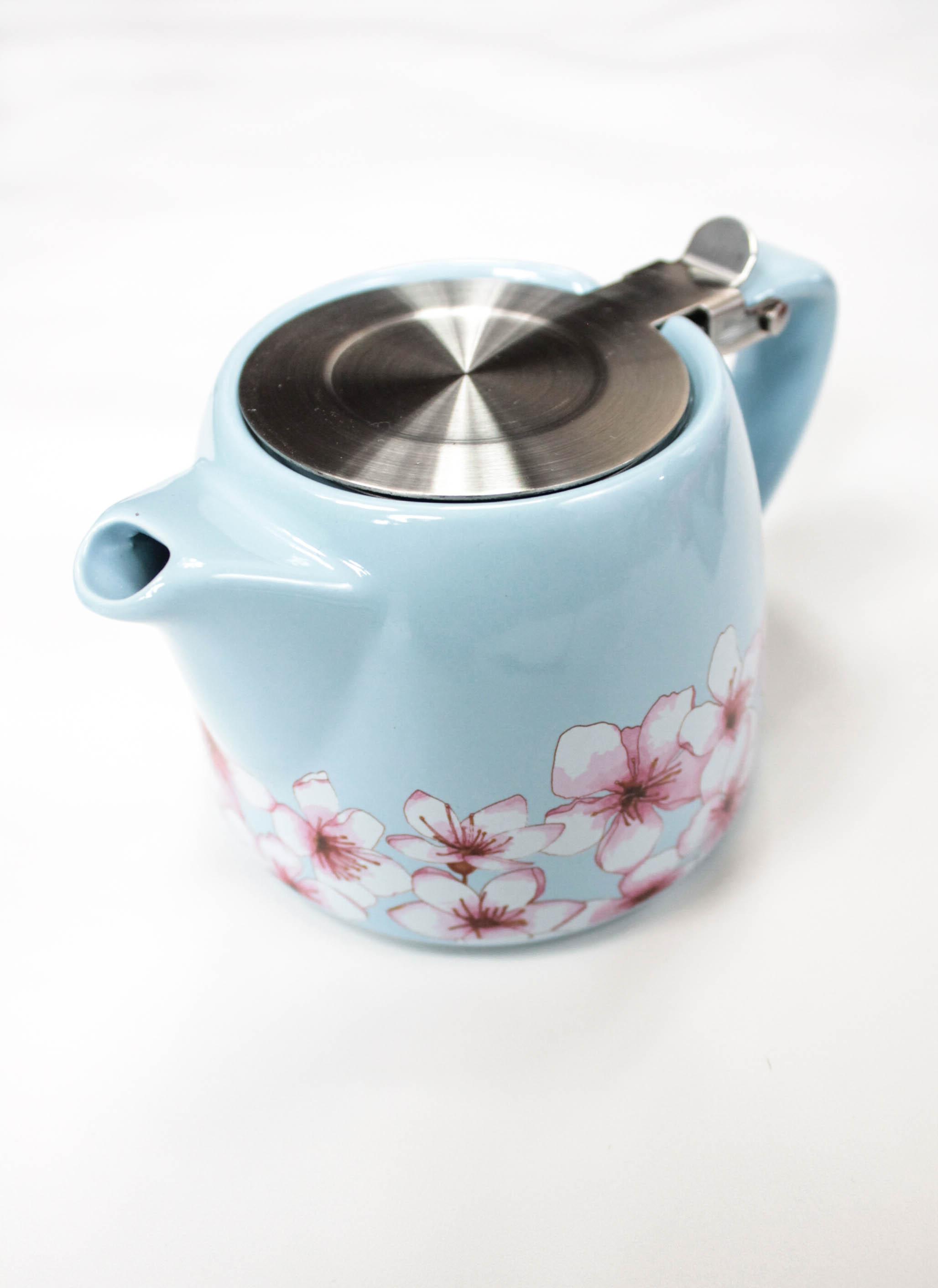 stainless steel ceramic teapot