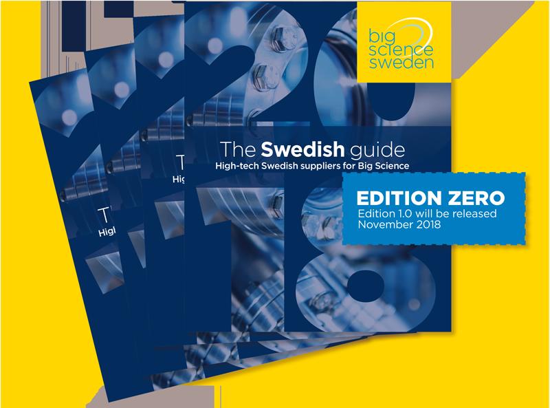 Som medlem kommer du med i The Swedish guide for Big Science