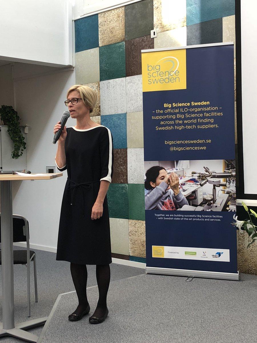 Inledningsvis talade Birgitta Bergwall Kåreborn, rektor på Luleå tekniska universitet, om vikten av att Sverige satsar på forskningsinfrastruktur. Hon talade även om samverkan mellan industri och akademi och dess betydelse för både universitetets och näringslivets utveckling.
