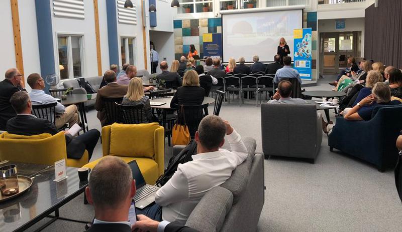 Hur kan regionen driva innovation och kompetensutveckling med big science, hur sker högteknologiska affärer och innovation tillsammans med de de svenska anläggningarna ESS, MAXIV och EISCAT samt hur är Big Science Sweden en viktig del av det svenska forsknings- och innovationssystemet.