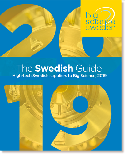 Hur kan du som svensk leverantör inleda samarbeten med CERN? En ingång är att finnas med i The Swedish Guide. Vi sprider guiden till forskningsanläggningar i Sverige och Europa.