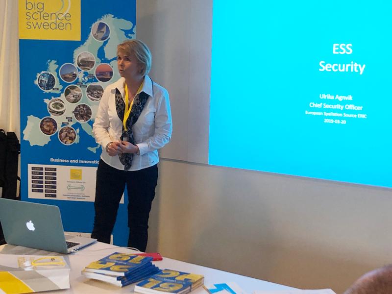 Att skapa hög säkerhet är viktigt, men, som Ulrika Agnvik, säkerhetschef på ESS påpekade: Vi är en forskningsanläggning, inget kärnkraftverk, och vi vill inte internera våra anställda eller besökare.