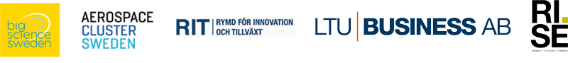 Mötet samarrangeras av projektet RIT (Rymd för innovation och tillväxt), klustret Aerospace Cluster Sweden (ACS) och Big Science Sweden i samarbete med RISE och LTU Business.