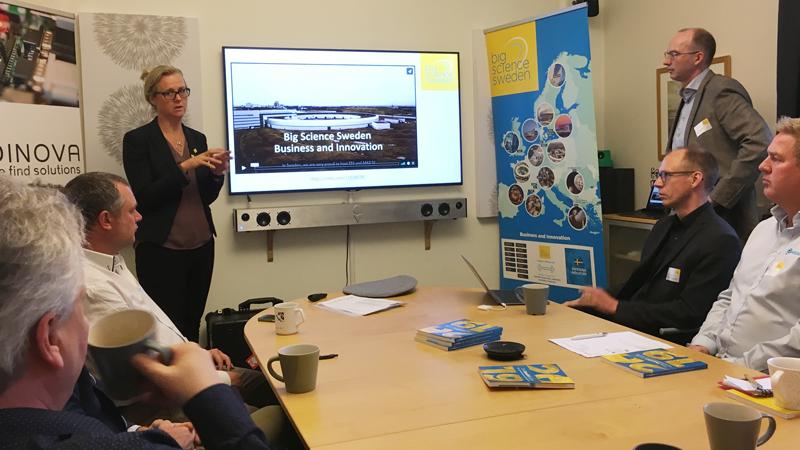 """""""Företag behöver gå samman i konsortier för att bli starkare i den internationella konkurrensen. Andra länder har varit duktigare på det, så här har Sverige en hemläxa att göra"""", säger Anna Hall."""