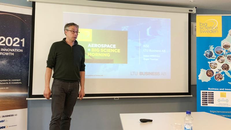 Roger Toumas, LTU Business och RiSE berättar om hur han kan stötta företagen med olika verktyg för affärsutveckling.