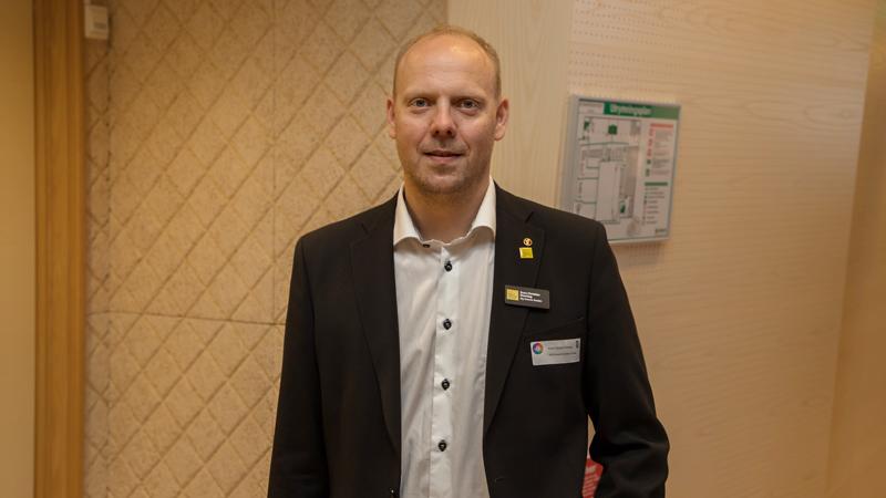 Sven-Christian Ebenhag, affärsutvecklare på Big Science Sweden, samt mångårig medarbetare på RISE, nätverkade om möjligheter för svenska teknikföretag att leverera till internationella forskningsanläggningar.