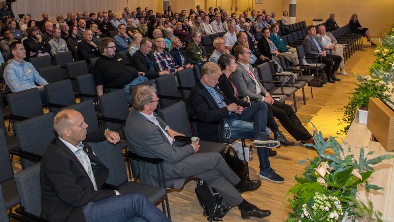 Många var intresserade att höra om mätteknik och förändringen av måttsystemet till de krav som ställs idag och i framtiden.