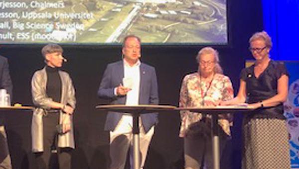 Lars Börjesson, Chalmers:  Det är fantastiska resultat som Big Science Swedens visar.