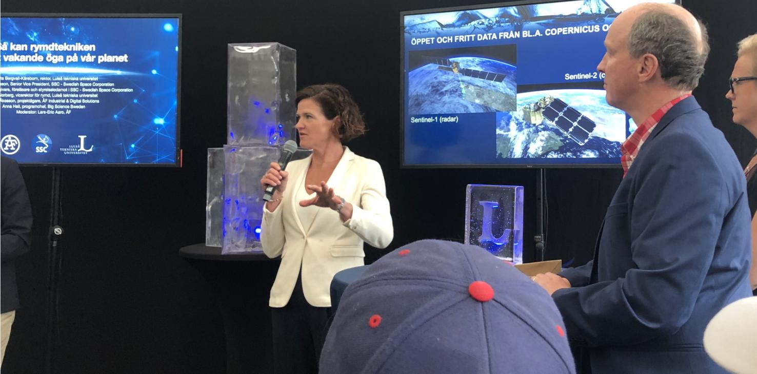 Anna Kinberg Batra är styrelseledamot i SSC - Swedish Space Corporation