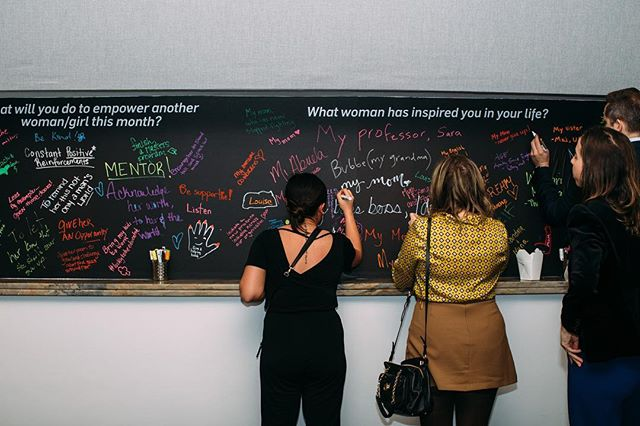 Check out this super cool Chalkboard Wall we did a few weeks ago for @wearedream. This was our first time doing a Chalkboard Wall decal and we were all ELATED at how it turned out. We'll definitely be suggesting this for future events. We love helping our clients bring their creativity to life for their events. Especially when they look this good! #decals #nyc #tribeca #events #eventdecor #dreamnyc #wearedream #idoeventdecals #vinyldecals #chalkboard