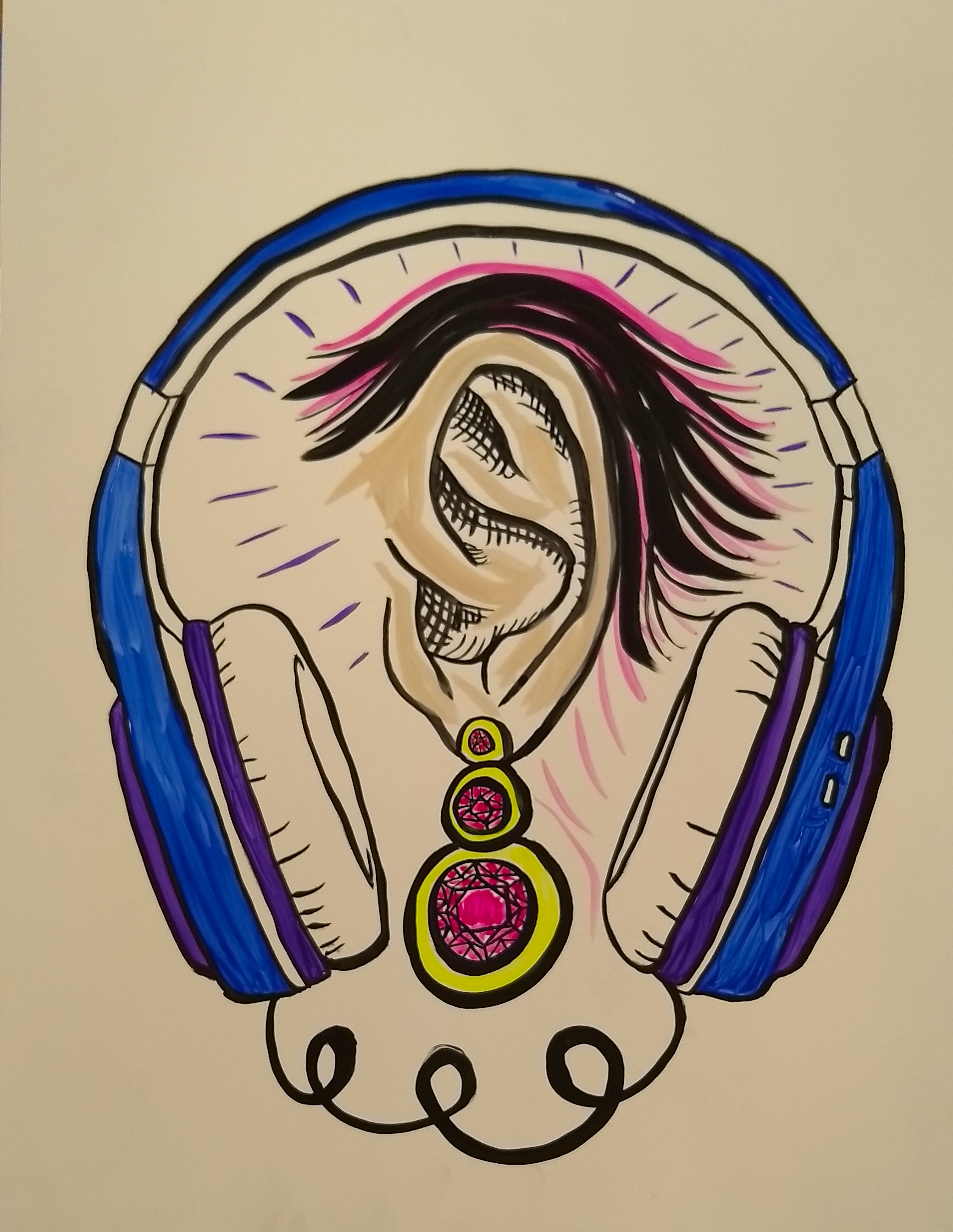 Ear and Headphones for Focusrite Novation