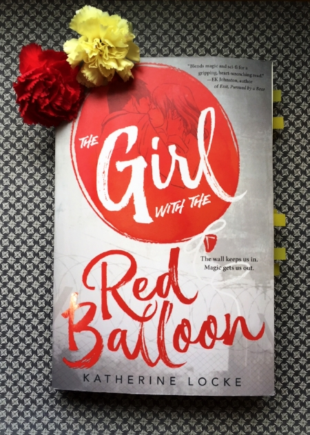 The Girl with the Red Balloon available now from Katherine Locke  Yes, it also requires many flags.