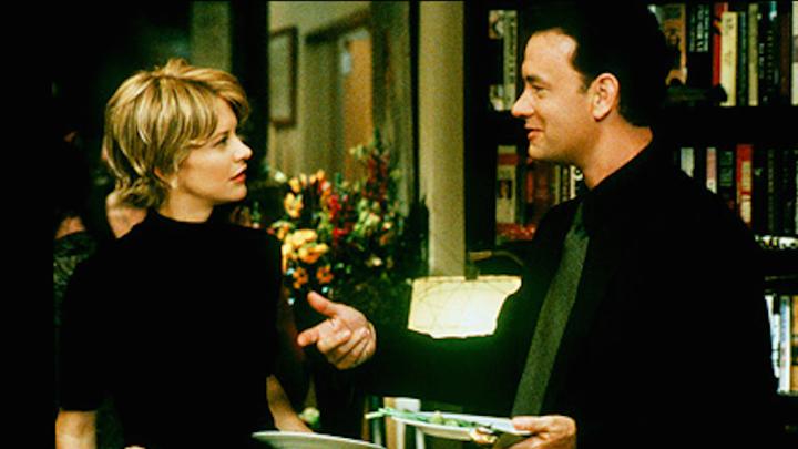 you've got mail - Starring Meg Ryan and Tom Hanks