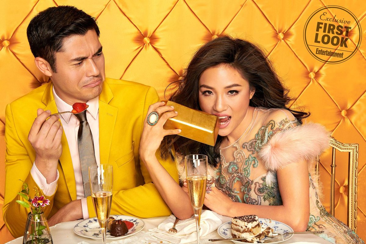 Crazy rich asians - Starring Constance Wu and Henry Golding