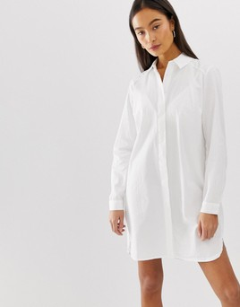 Asos cotton mini shirt dress