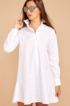 Time well spent shirt dress