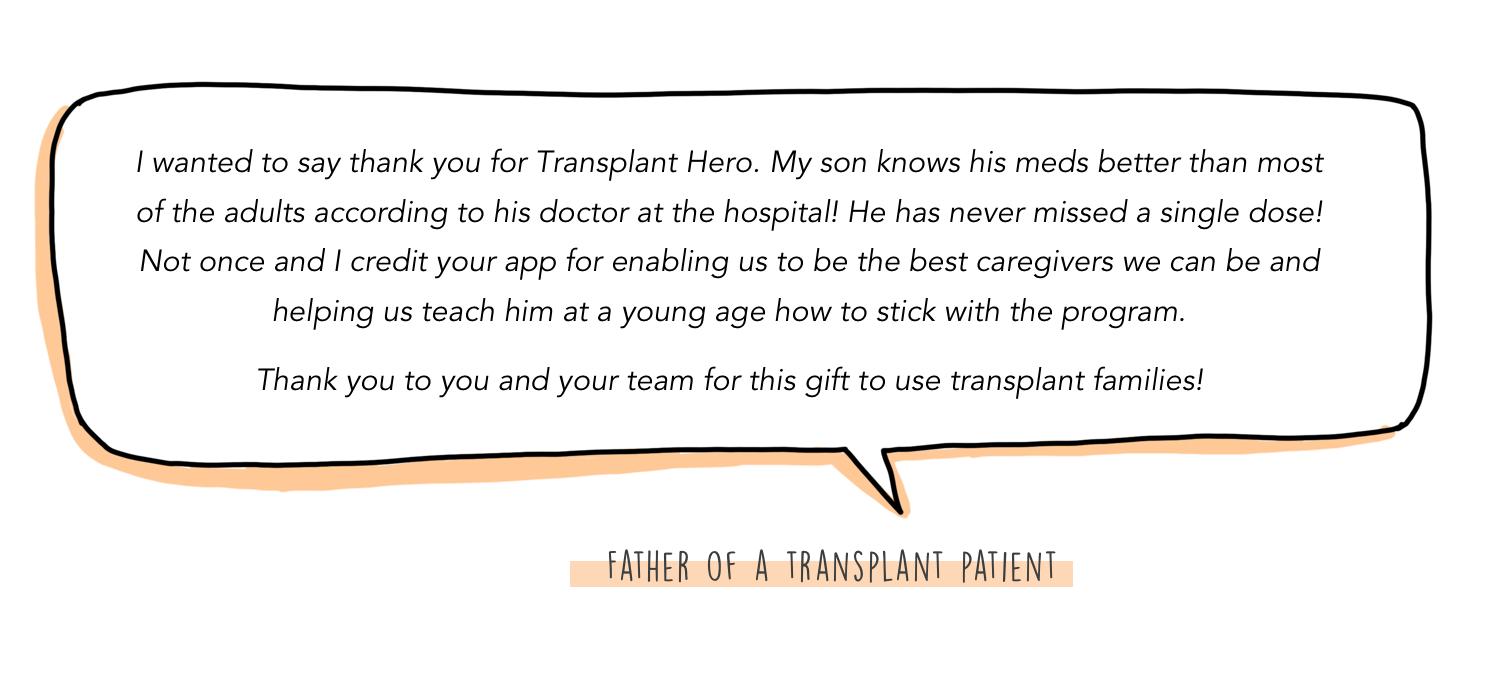 Transplant Hero — @anatinge