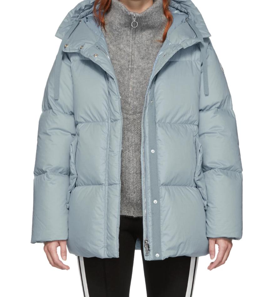 MonclerBlue Down Nerium Jacket - (1250€)