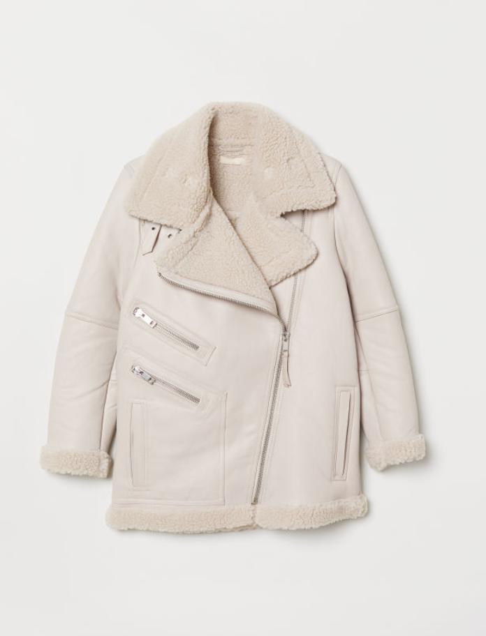 H&MBiker Leather Jacket - (299€)