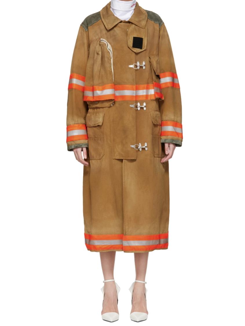 Calvin KleinBrown Fireman Coat - (2980€)