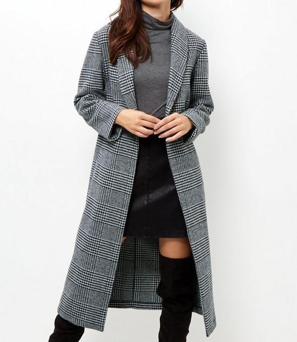 New LookCheck Maxi Coat - (22€ was 45€)