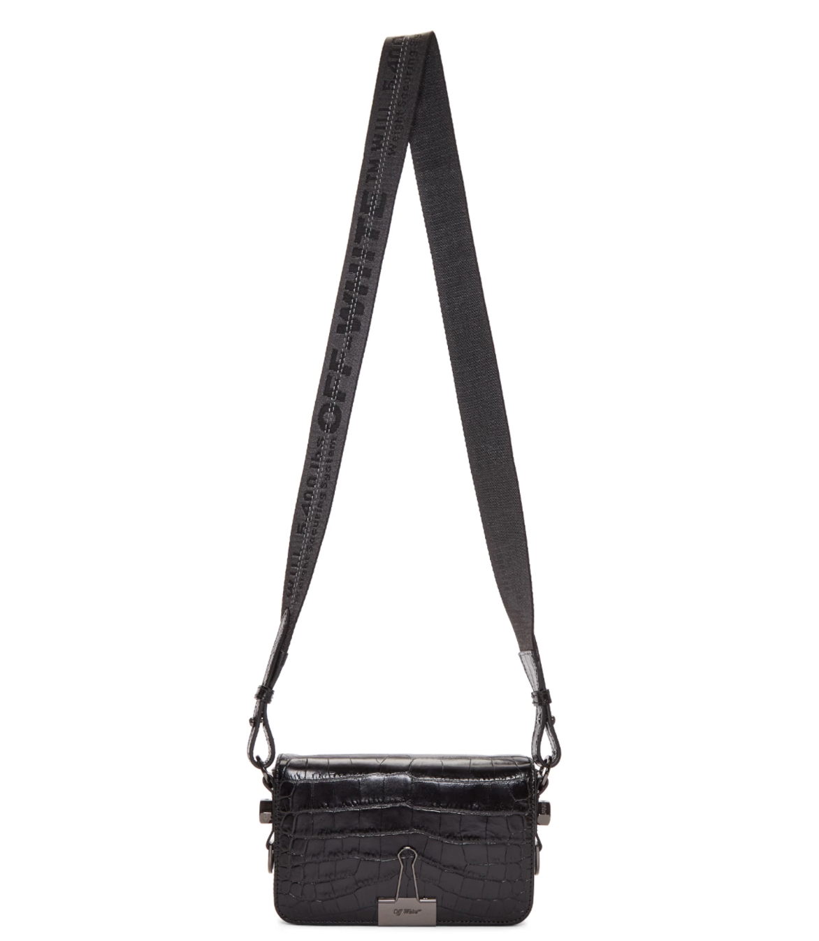Off-White Croc Mini Flap Bag - 765€