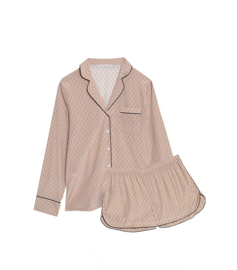 Stella McCartney Silk-Blend Pajama Set - 179€ (was 374€)