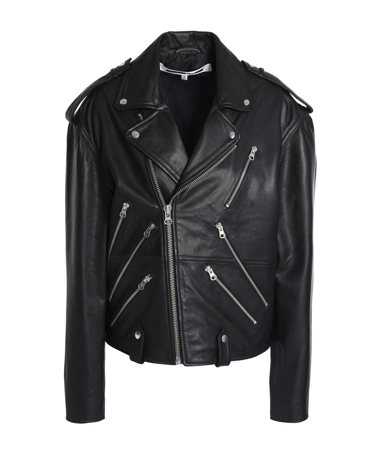 McQ Alexander McQueen Leather Biker Jacket - 487€ (was 974€)