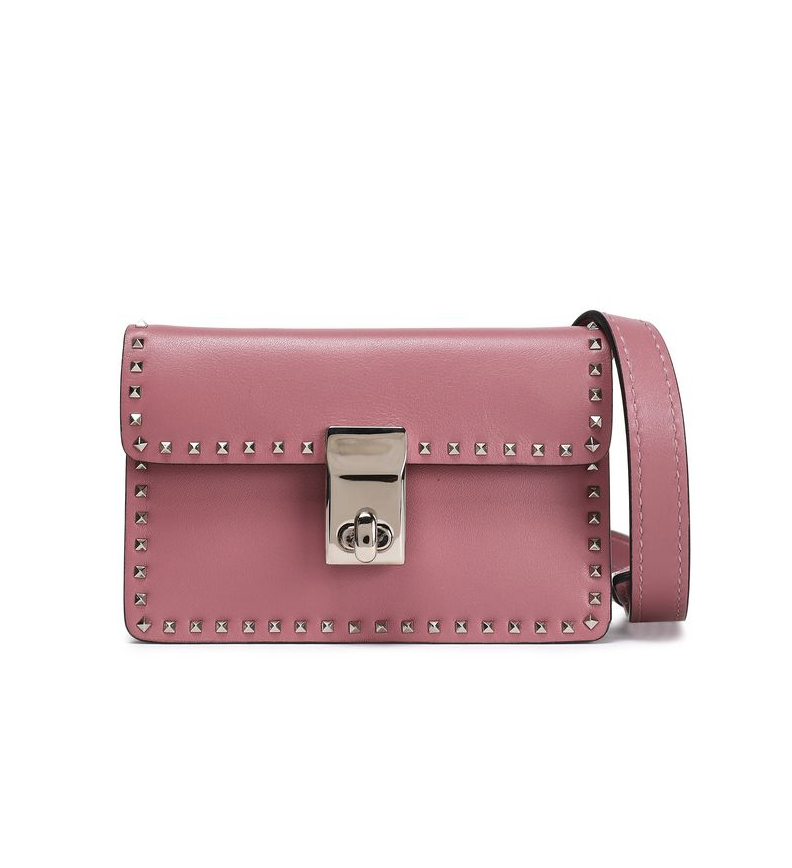 Valentino Studded Leather Shoulder Bag - 428€ (was 712€)