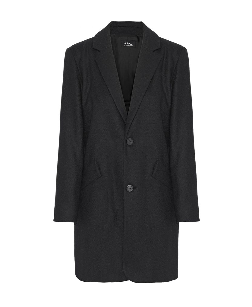 A.P.C. Wool-Felt Coat - 220€ (was 441€)