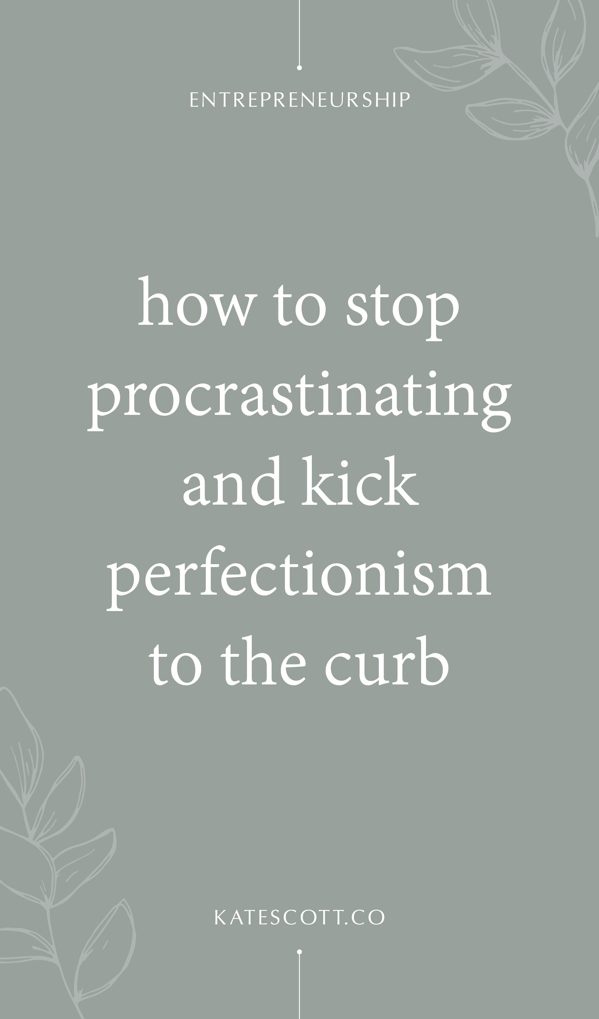 Do you struggle with procrastination and perfectionism? Here's how to stop procrastinating, beat perfectionism, and GET SHIT DONE. | Be More Productive | Perfectionism Overcoming | Productivity Tips | Productivity for Entrepreneurs | Procrastination Tips | How to Overcome Perfectionism | How to Overcome Procrastination | Beat Procrastination #Entrepreneur #Entrepreneurship
