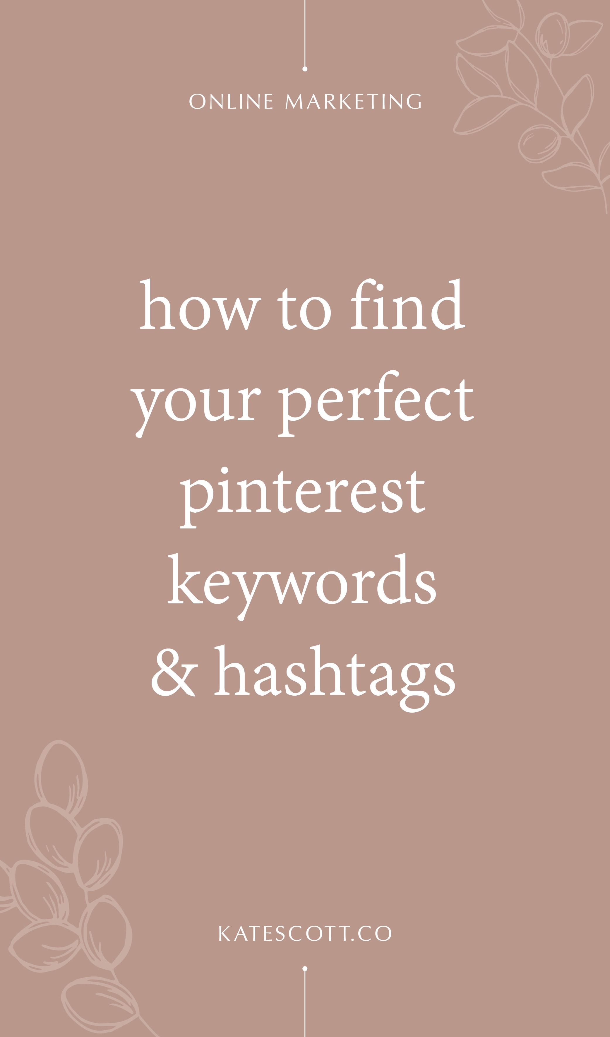 Not sure how to find the perfect Pinterest hashtags and keywords to boost your visibility and reach? Here are 2 ways to find amazing keywords + 2 ways to find popular hashtags! | Pinterest Marketing Tips | Pinterest Marketing Strategies | Marketing with Pinterest | Marketing on Pinterest | Pinterest Strategy | Pinterest Marketing for Bloggers | Pinterest Marketing for Business | Pinterest Tips | #Pinterest #PinterestMarketing