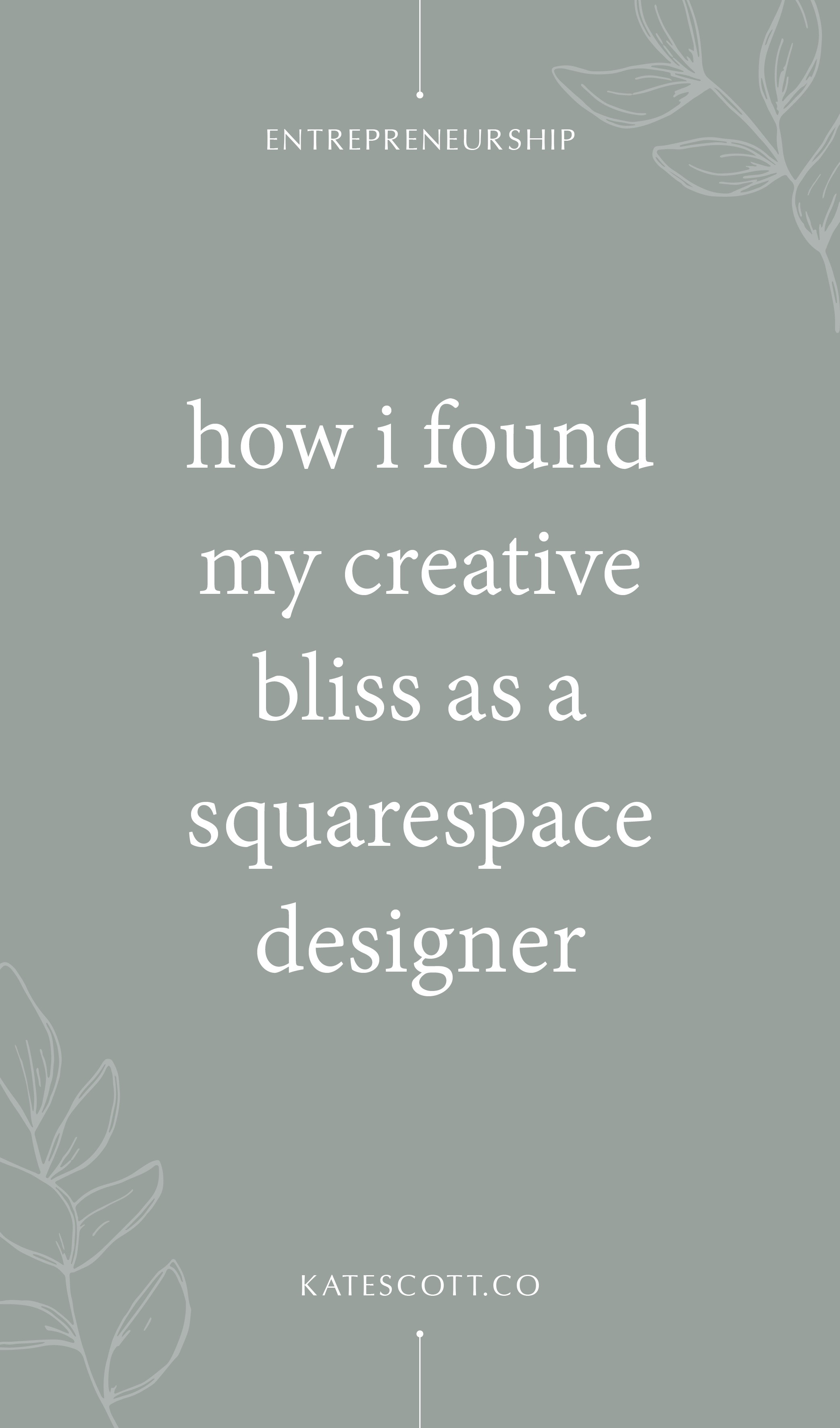 How I Found My Creative Bliss as a Squarespace Designer | Squarespace Design | Custom Squarespace | Web Designer Website | Squarespace Website Design | #squarespace #webdesigner #squarespacedesigner #webdesign
