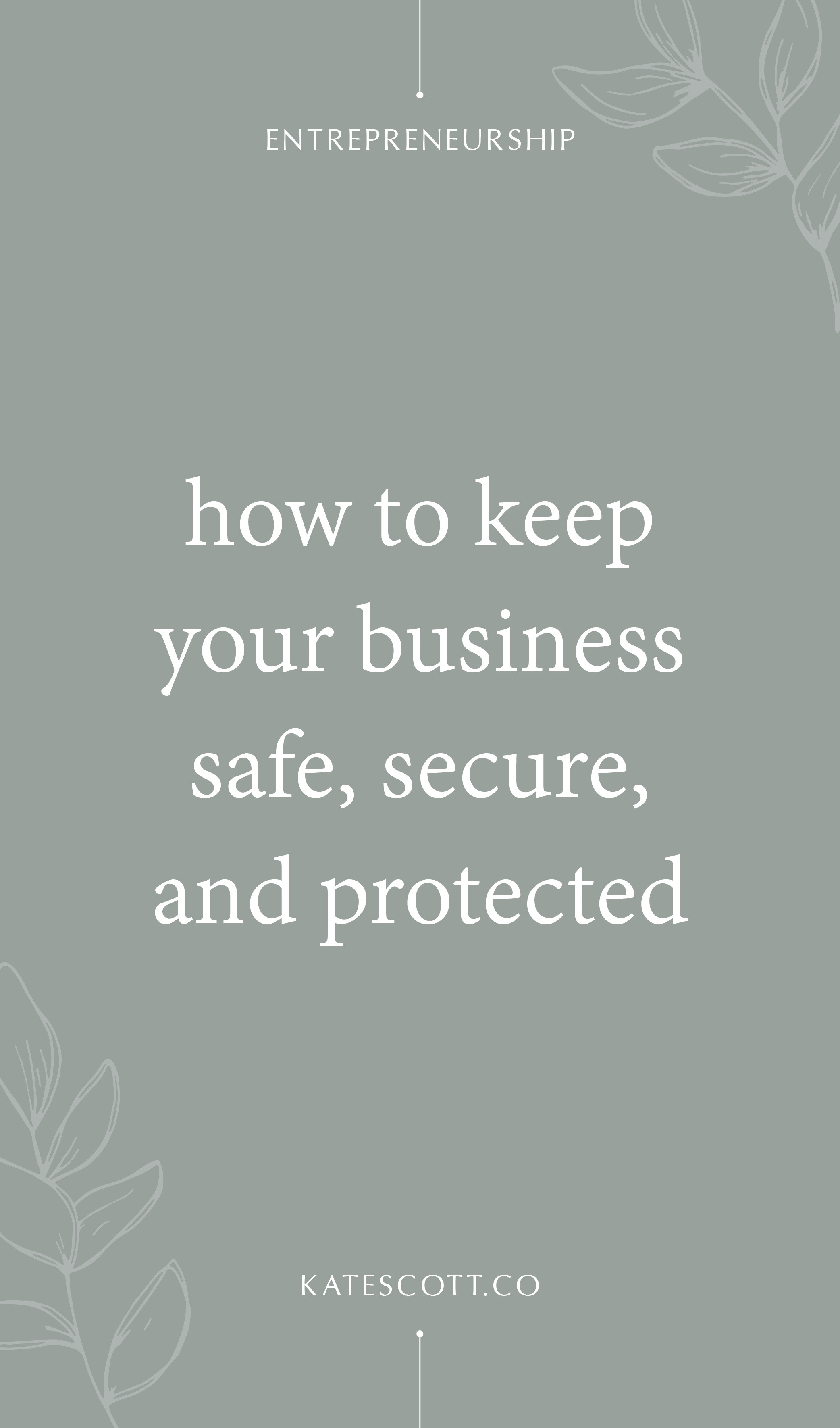 Keep your business safe with these 13 best practices for keeping hackers out, your data secure, and your money in your own damn bank account! | Online Security Tips | Data Security | Online Business Tips Entrepreneurship | Entrepreneur Tips | #entrepreneur #business
