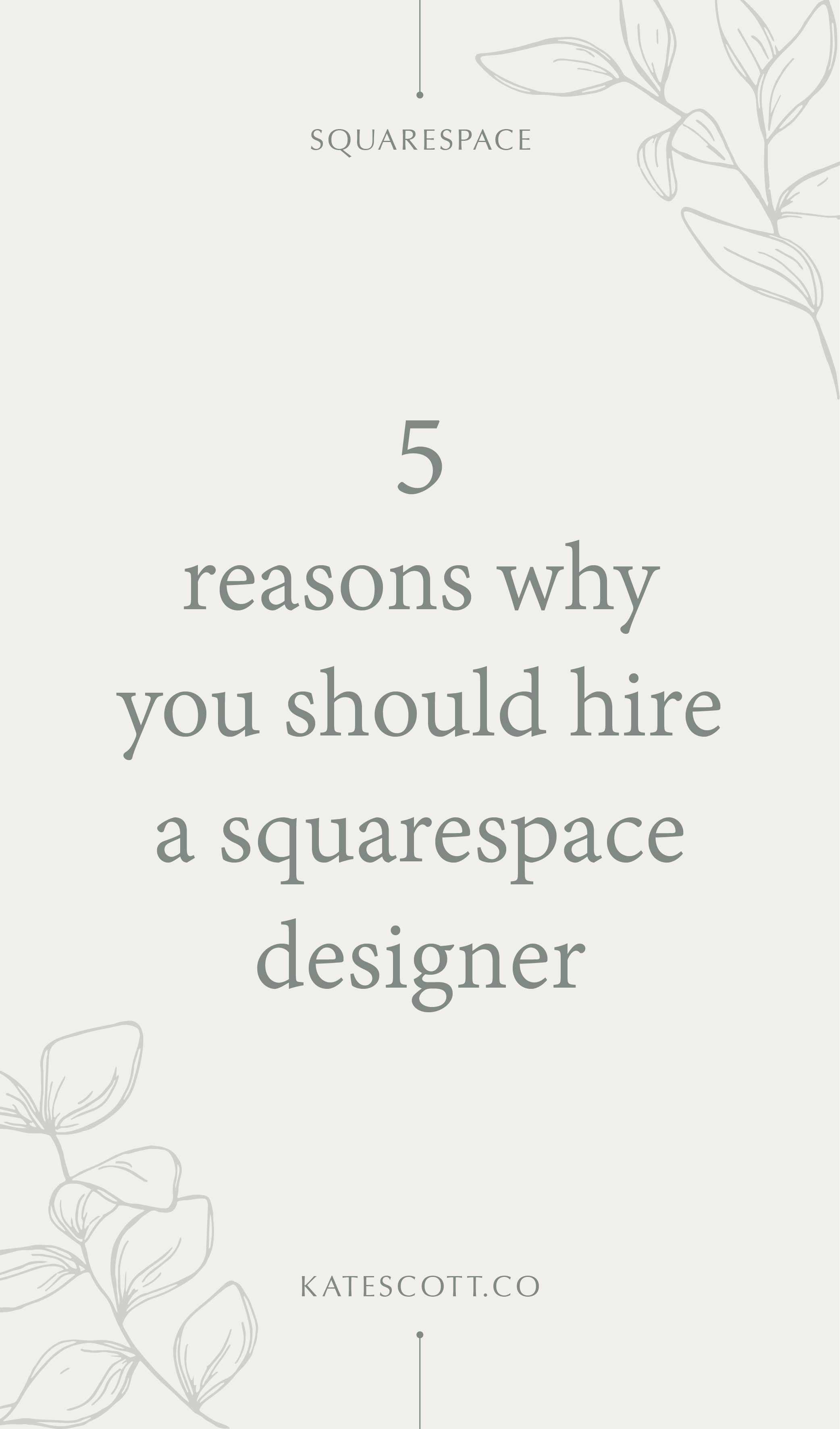 Squarespace is marketed as a DIY website-building platform, so why should you hire a professional Squarespace designer? | Squarespace Designer Website | Squarespace Design | Custom Web Design | Web Designer | Creative Web Design | Web Design Responsive | Responsive Web Design