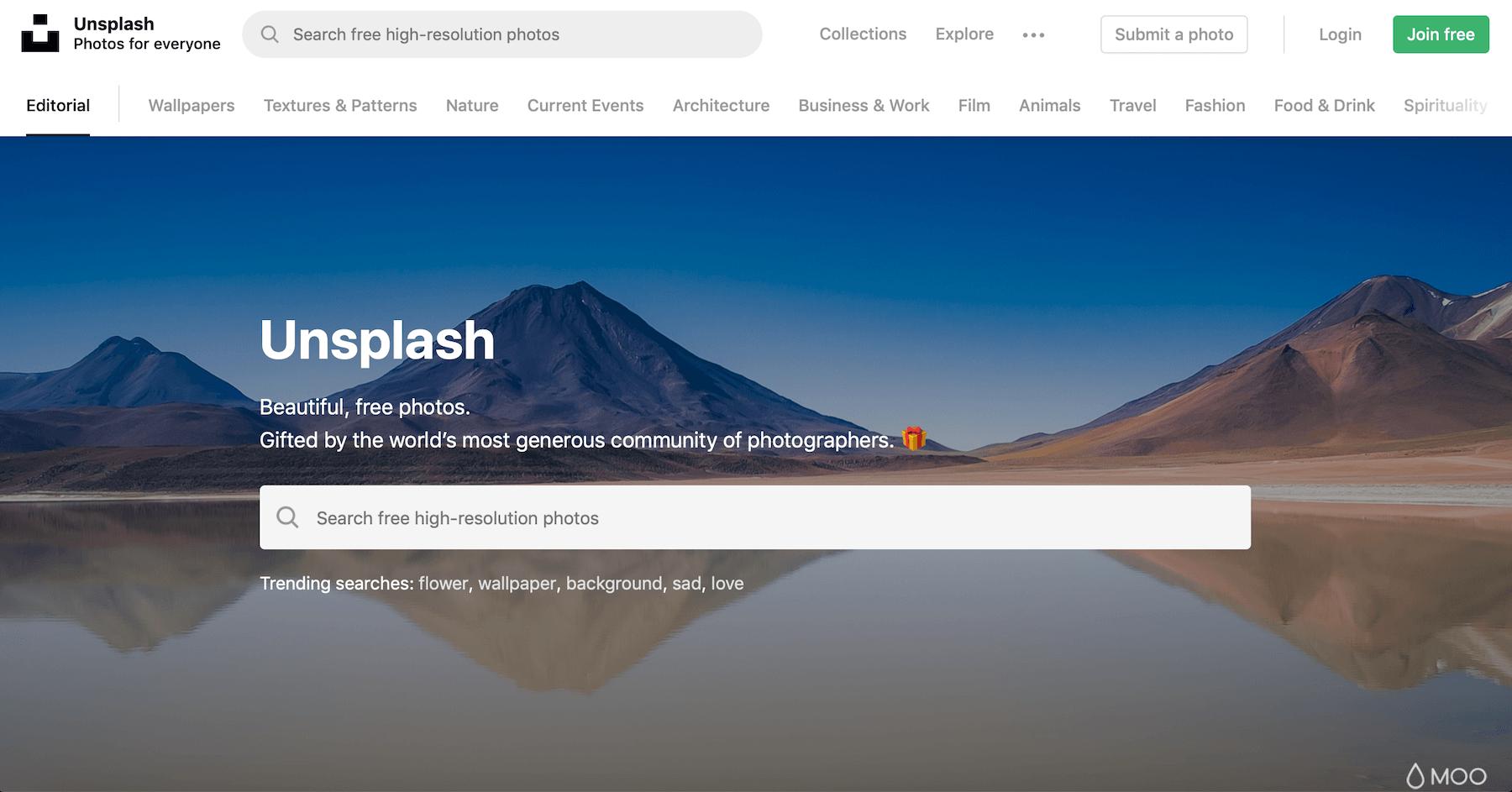 Unsplash - 100% Free High Quality Stock Photos