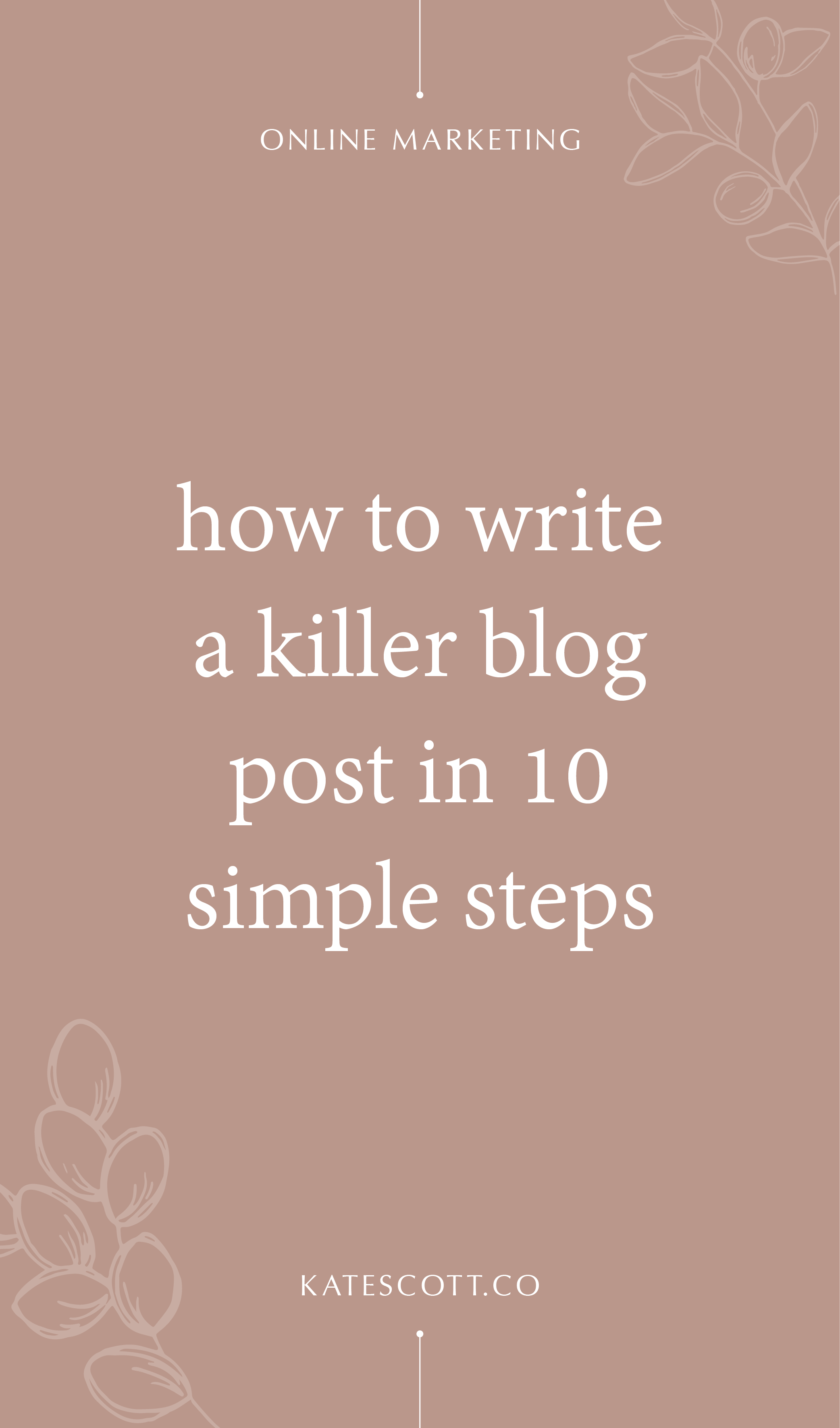Are you struggling to create epic blog content? This step-by-step guide will walk you through everything you need to know to write killer blog posts that CONVERT. | How to Write a Blog Post | Blogging for Beginners Step by Step | How to Blog for Business | How to Blog for Beginners | Blog Post Template | First Blog Post | Blog Help | #Blogging #Bloggers #BloggingTips #Entrepreneur #Entrepreneurship