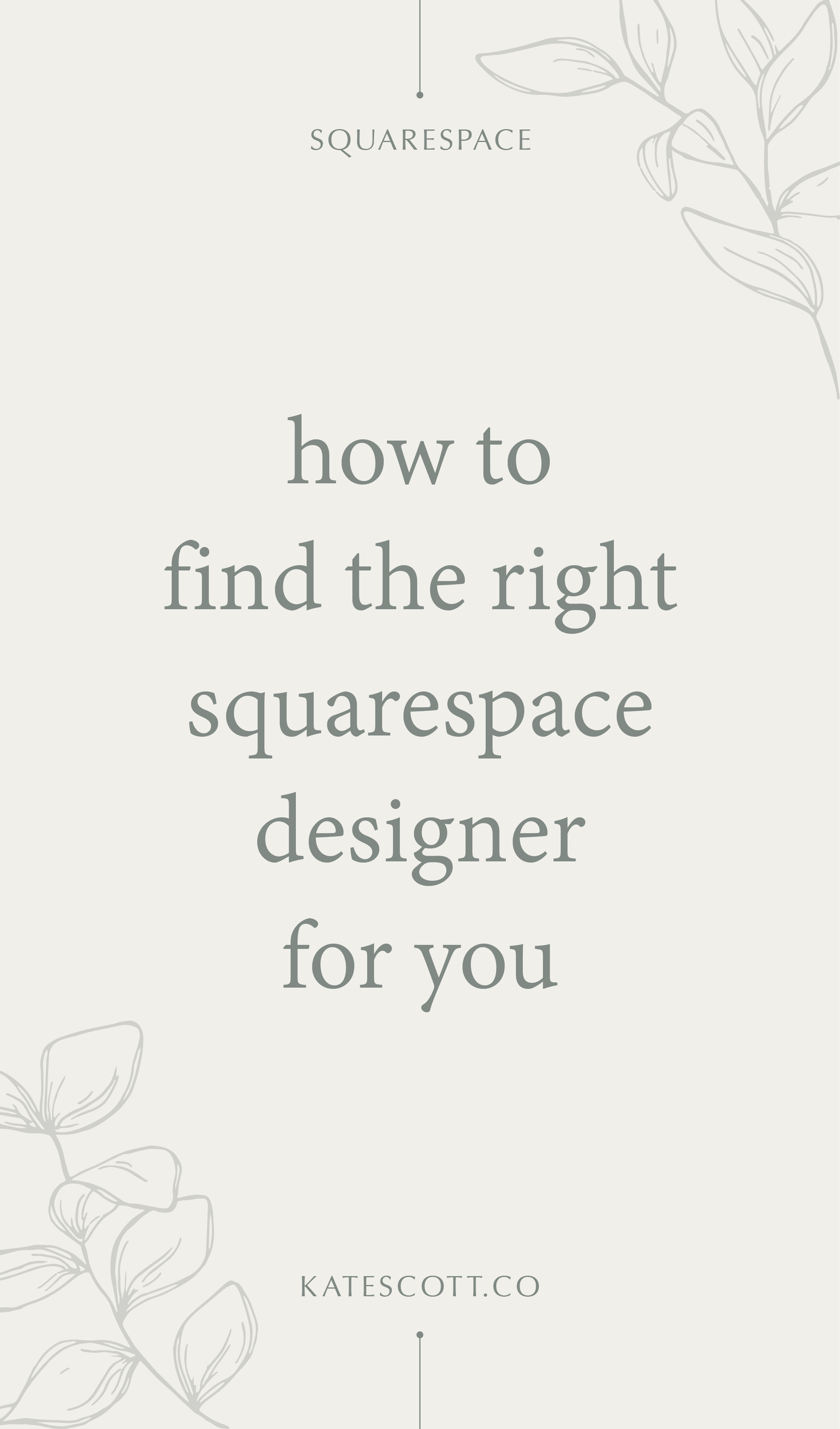 Looking for a Squarespace designer to makeover your website? Here are some tips on how to find the best one for you. | Squarespace Design | Squarespace Designer | Squarespace Tips | Custom Squarespace Design | Custom Web Design | Female Entrepreneur