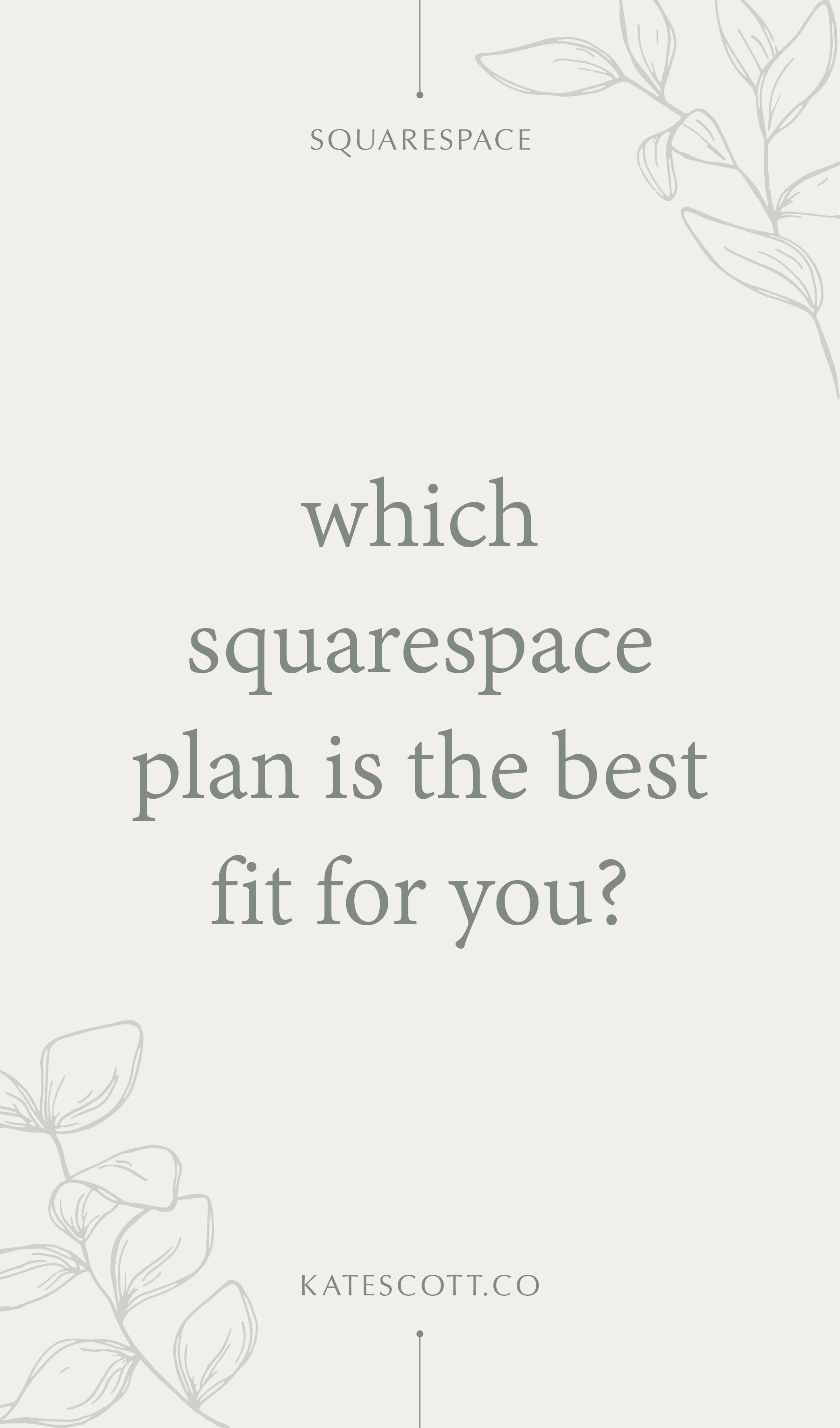 Not sure which Squarespace plan is right for you? This comprehensive guide will help you figure it out in a jiffy! | Squarespace Platform | Squarespace Design | Squarespace Website Design | Squarespace Business Website | Squarespace for Business | Squarespace Ecommerce Design | Small Business Tips