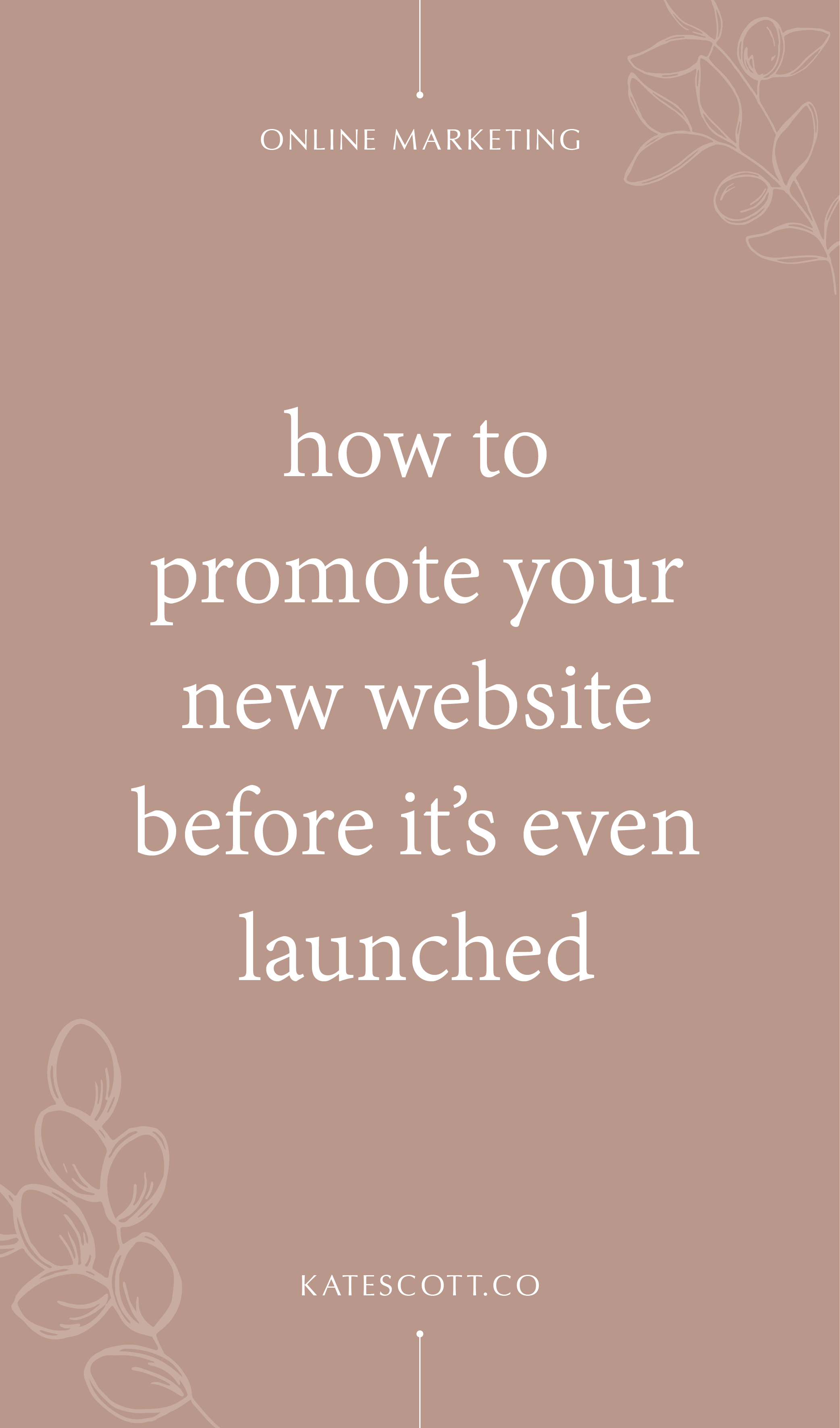 Want to build buzz before your big website launch? This pre-launch website marketing strategy will help you build momentum and grow your business faster out of the gate! | Social Media Marketing | Social Media Platforms | Website Marketing Ideas | Website Marketing Tips | Pinterest Marketing | Instagram Marketing Strategy | Website Marketing Tips | Website Marketing Strategy | #socialmedia #digitalmarketing #entrepreneur