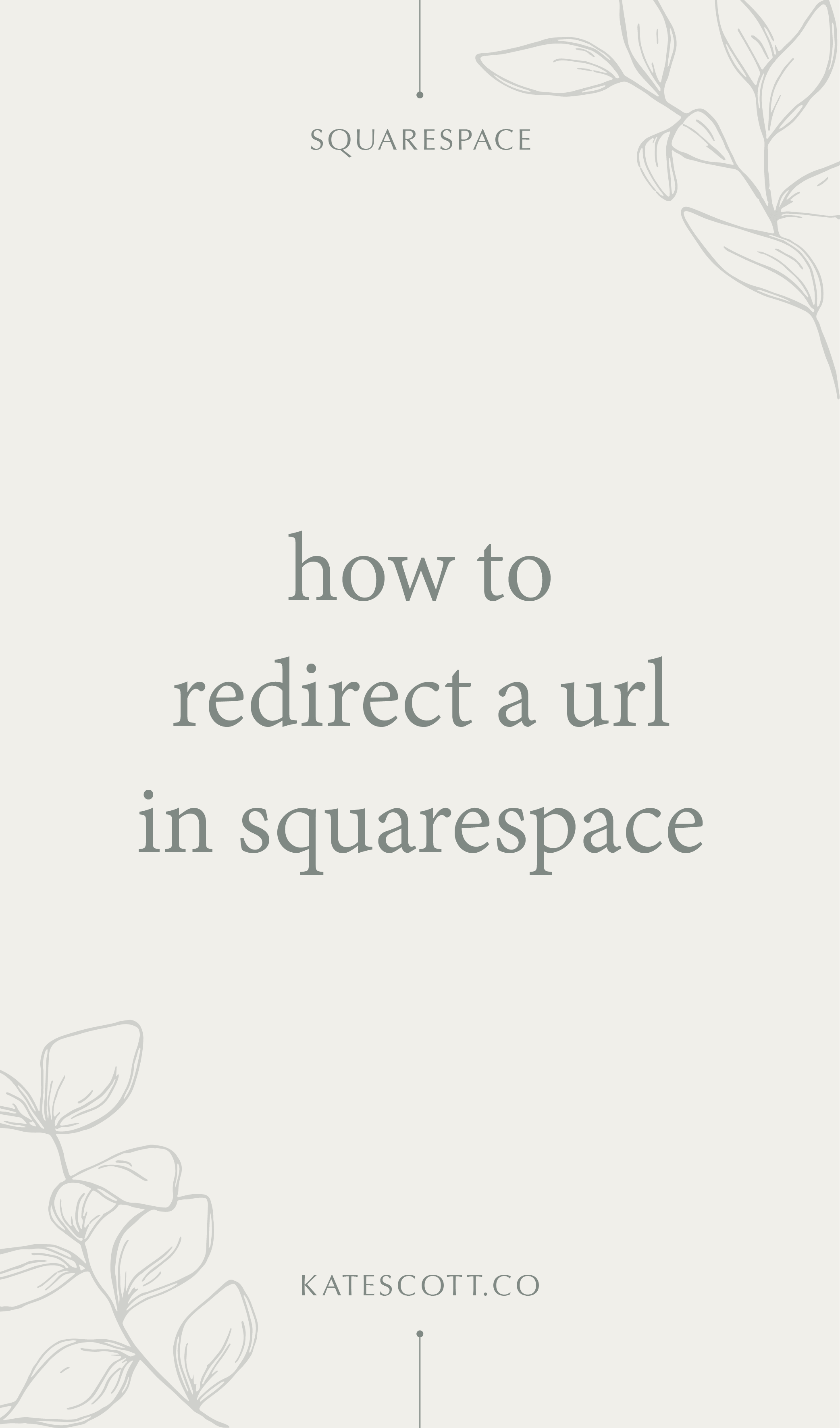 Need to redirect a URL on your Squarespace website? Here's a step-by-step guide! | Squarespace Tutorial | Squarespace Tips | 301 Redirect | #squarespace