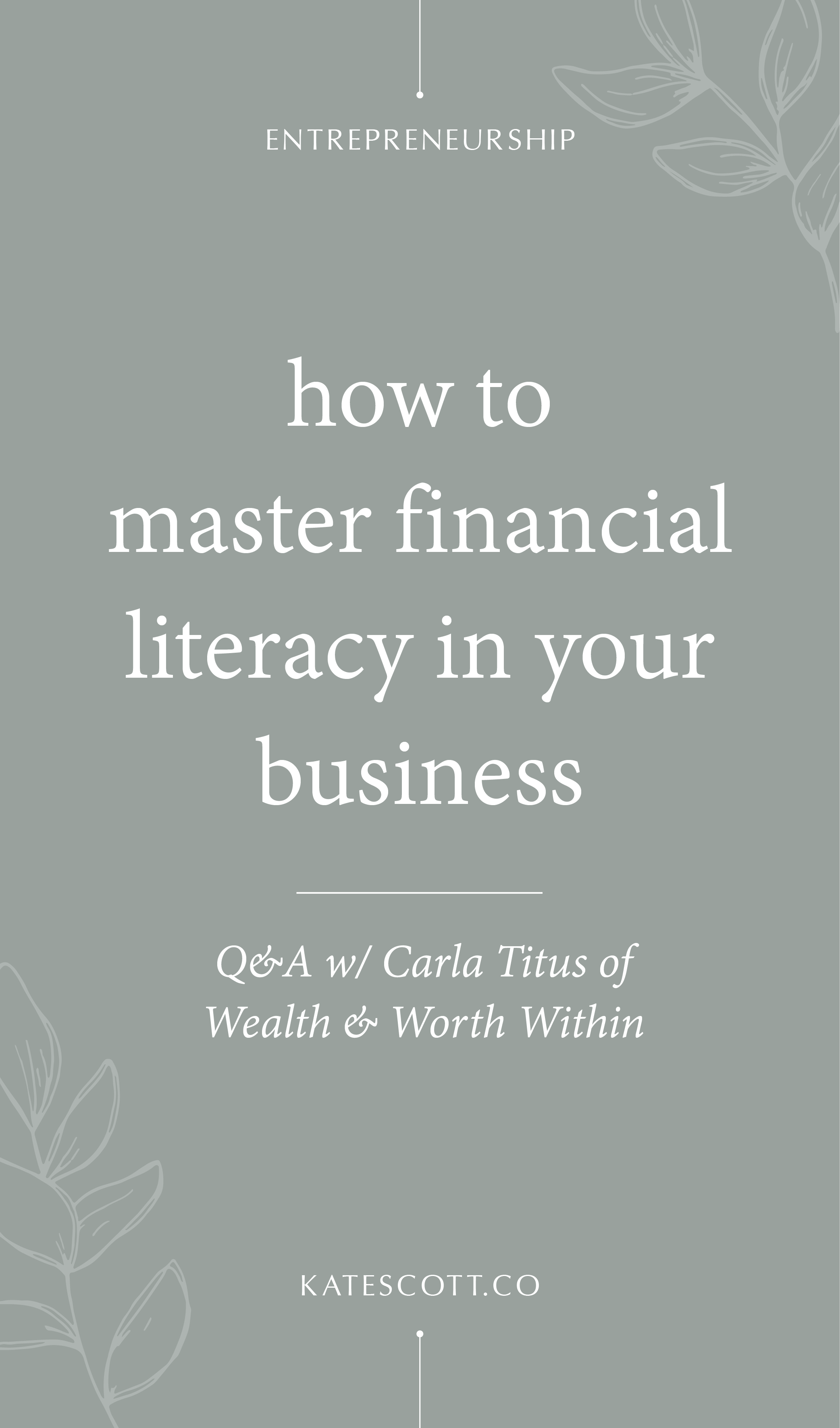 Having trouble keeping your business solvent? Check out this informative Q&A with money expert Carla Titus of Wealth & Worth Within! | Small Business Finances | Entrepreneur Finances | Entrepreneur Financial | Business Finance Tips | Business Finance Management | #entrepreneur #smallbusiness